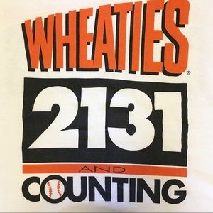 Fruit of the Loom Shirts - Wheaties 2131 & Counting Cal Ripken Jr Tee